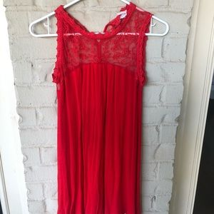 Blu Pepper Red Dress